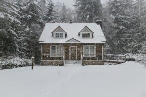 5 Effective Tips to Winter-Proof Your Home. Suburb classic styled private house in the snow