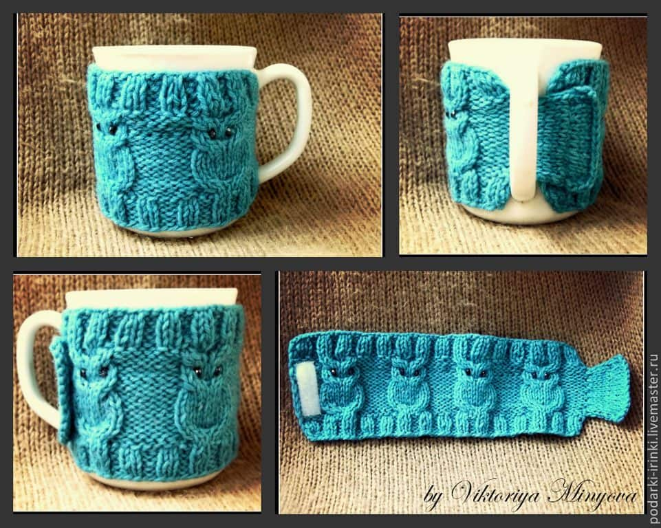 5 Cool Custom Coffee Sleeve Designs That You Should Try! Wool woven cup sleeve