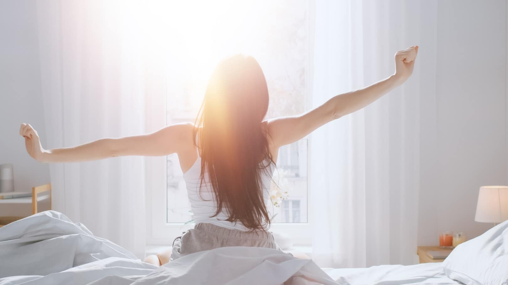 11 Tips For A Comfortable Night's Sleep. Bright sun rays in the morning