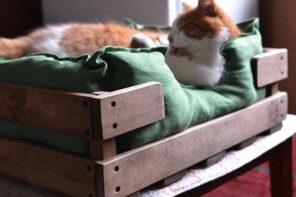 4 Pet-Friendly Interior Design Hacks to Keep You and Your Pooch Living Together in Harmony. The cot for a cat at the mudroom