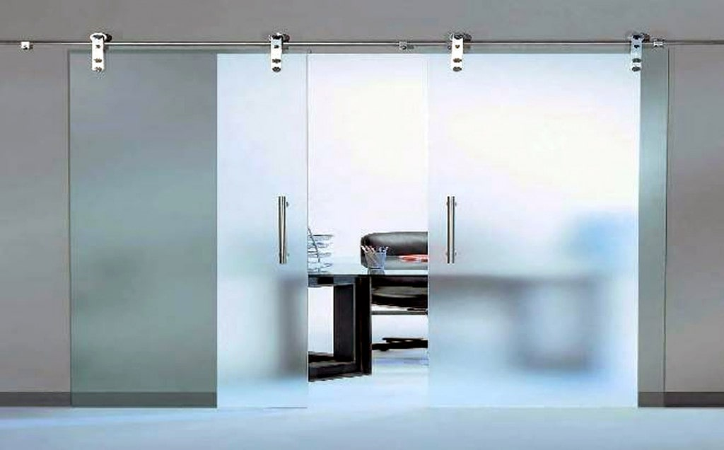 Top Reasons to Install Sliding Doors for your Homes. Frosted glass interior door for home office