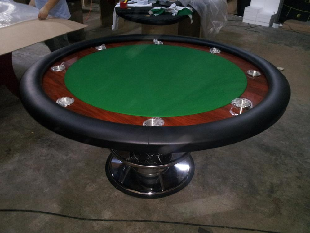 Round poker table from Alibaba