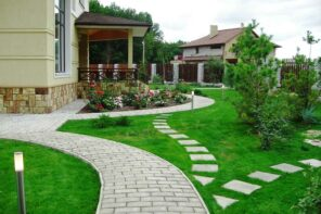 Safe and Sound: How to Protect Your Home During Storm Season. Nicely trimmed and maintained yard