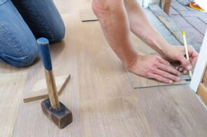 Responsible Disposal: Tips To Get Rid of Renovation Waste. Installation of the laminate