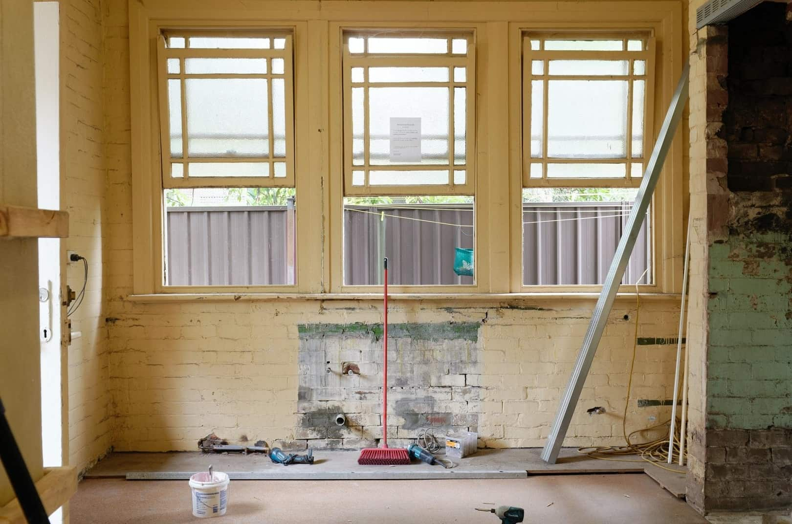 Responsible Disposal: Tips To Get Rid of Renovation Waste. The loft room is being renovated