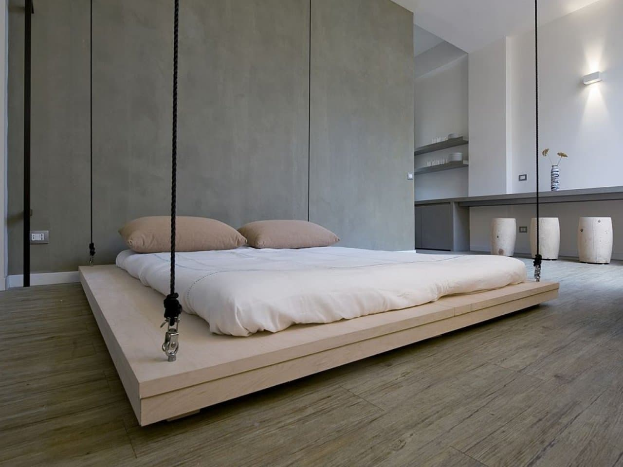 10 Fascinating Bedroom Designs. Extra minimalistic futuristic space