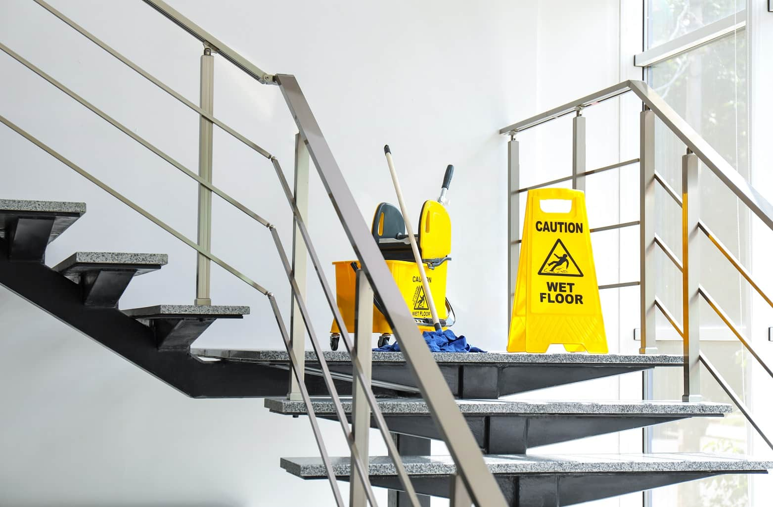 5 Ways To Prevent Falls, Slips, And Trips On Your Staircase. Cleaning the stairs