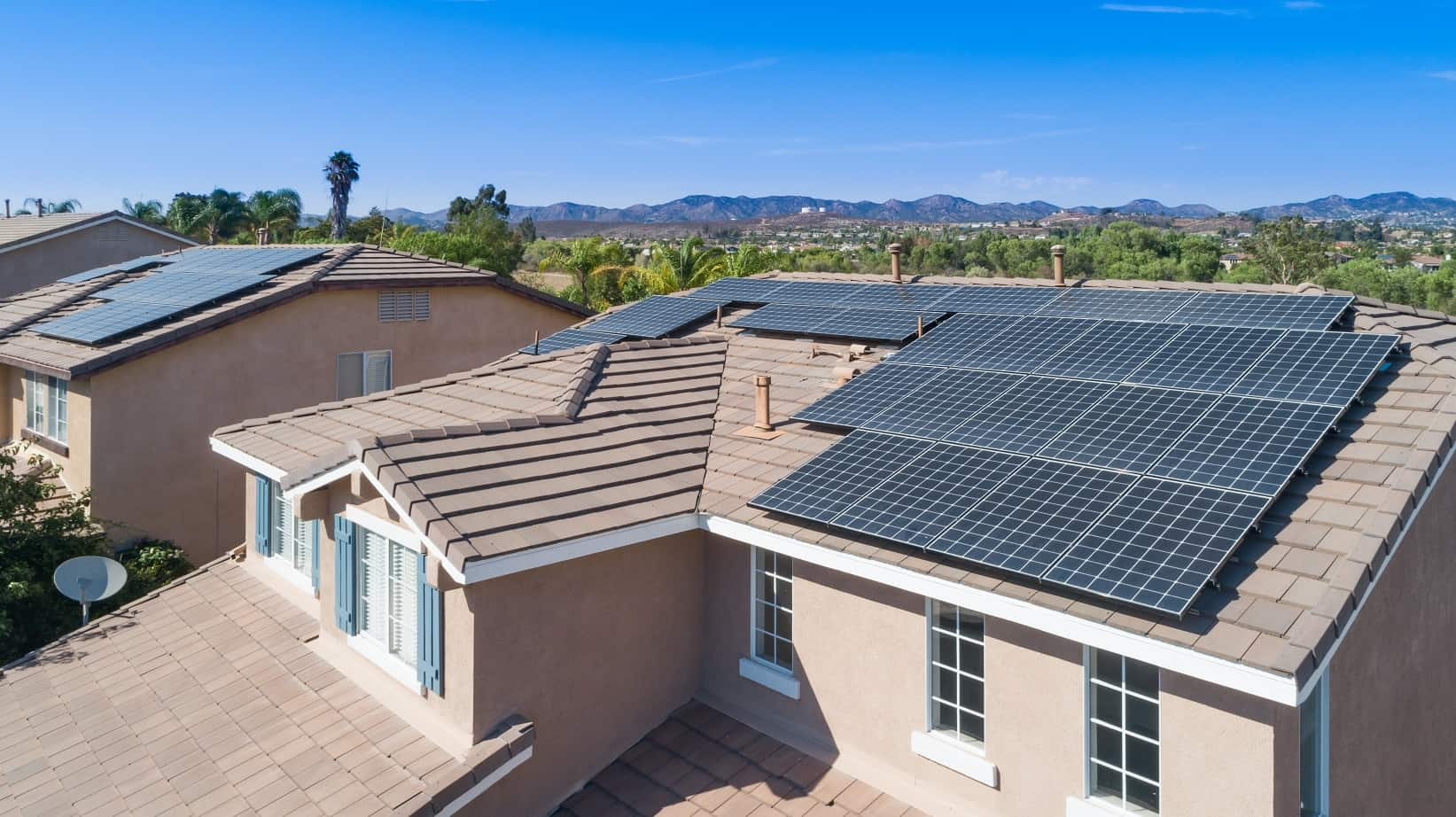 How To Pick The Right Solar System For Your Home. The whole cottage's roof covered with solar panels