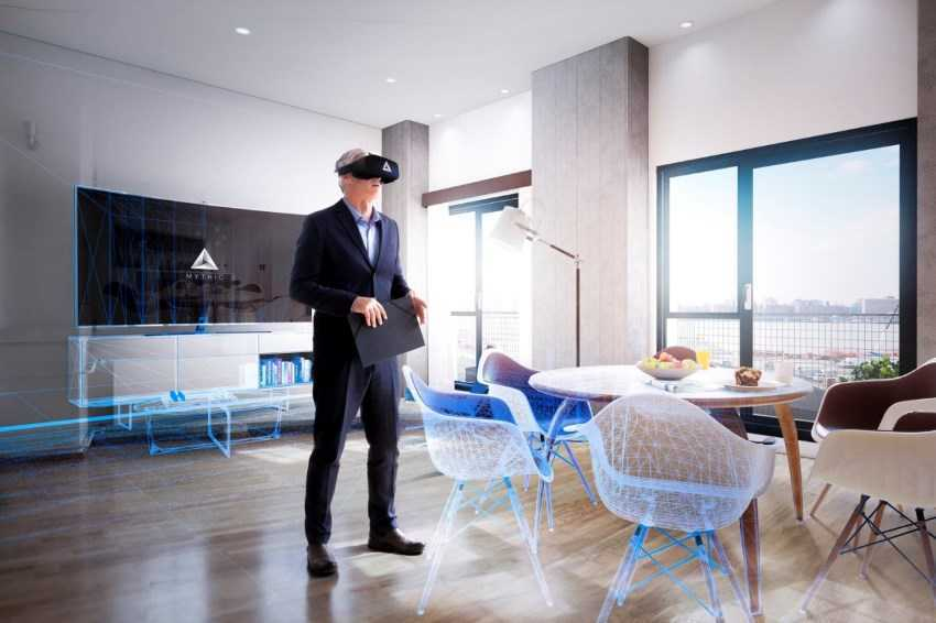 Virtual and Augmented Reality Interior Design. Modeling the interior of the dream in goggles