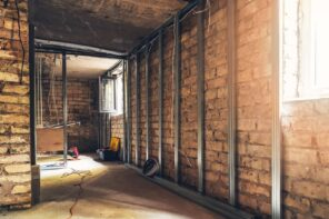 4 Things To Know Before Starting Your Basement Renovation. Prepared for plasterboarding walls with aluminum guides