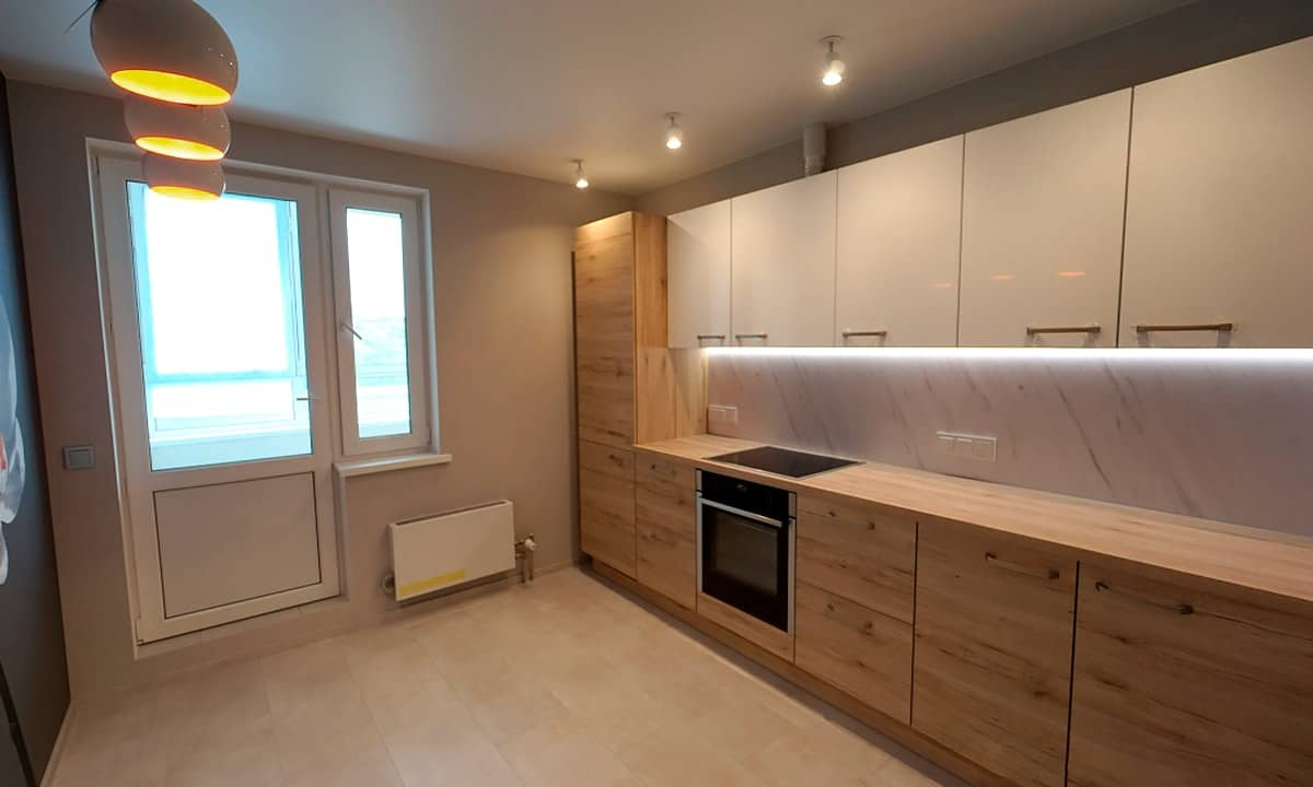 What Tools You will Need to Fit a Kitchen. Nice looking modern kitchen set in the staged space