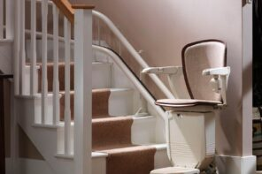 Why Should You Consider Installing a Stair Lift in Your Home? The seat for disabled people to lift up the stairs