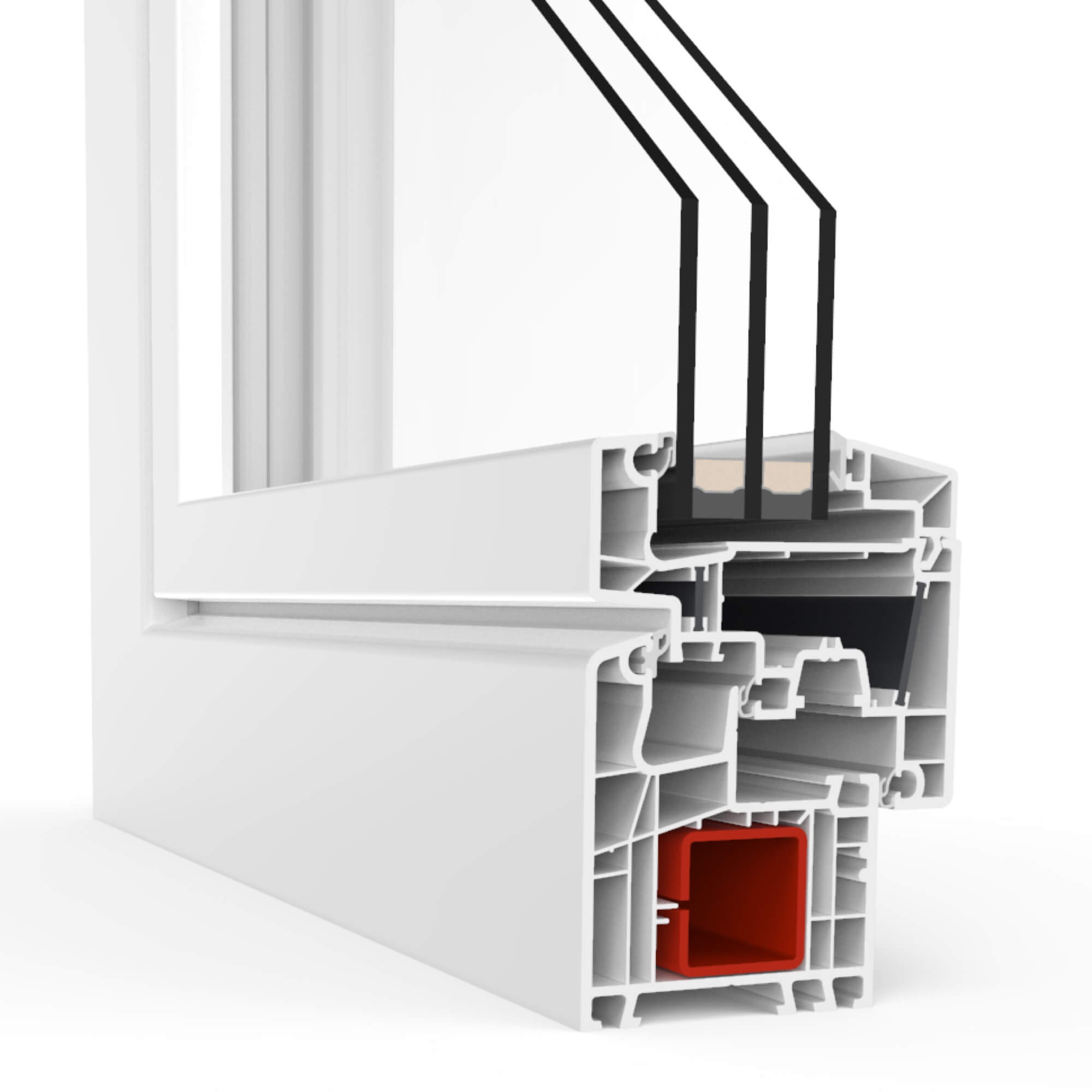 What are the Benefits of UPVC Windows and Doors? Inner organization of the window
