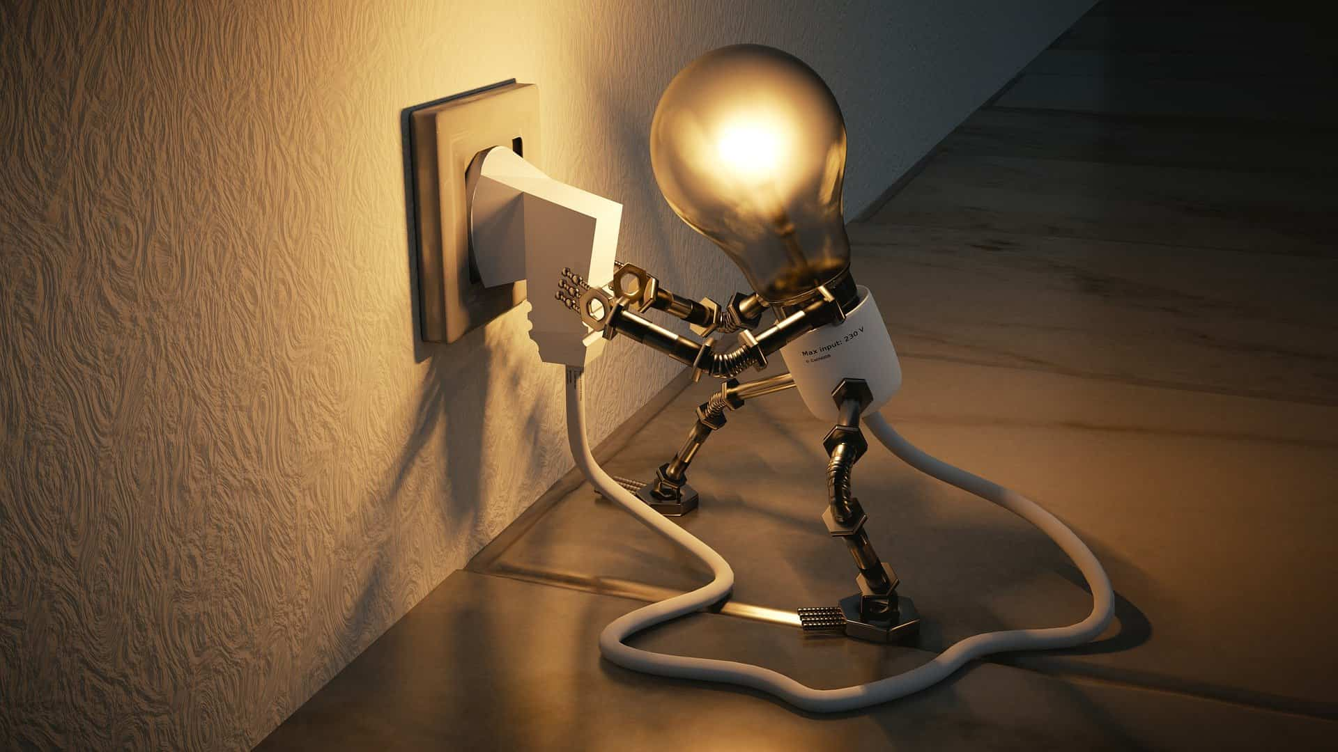 Home Electrical Upgrades You Need To Invest In. The animation of the lamp and cord