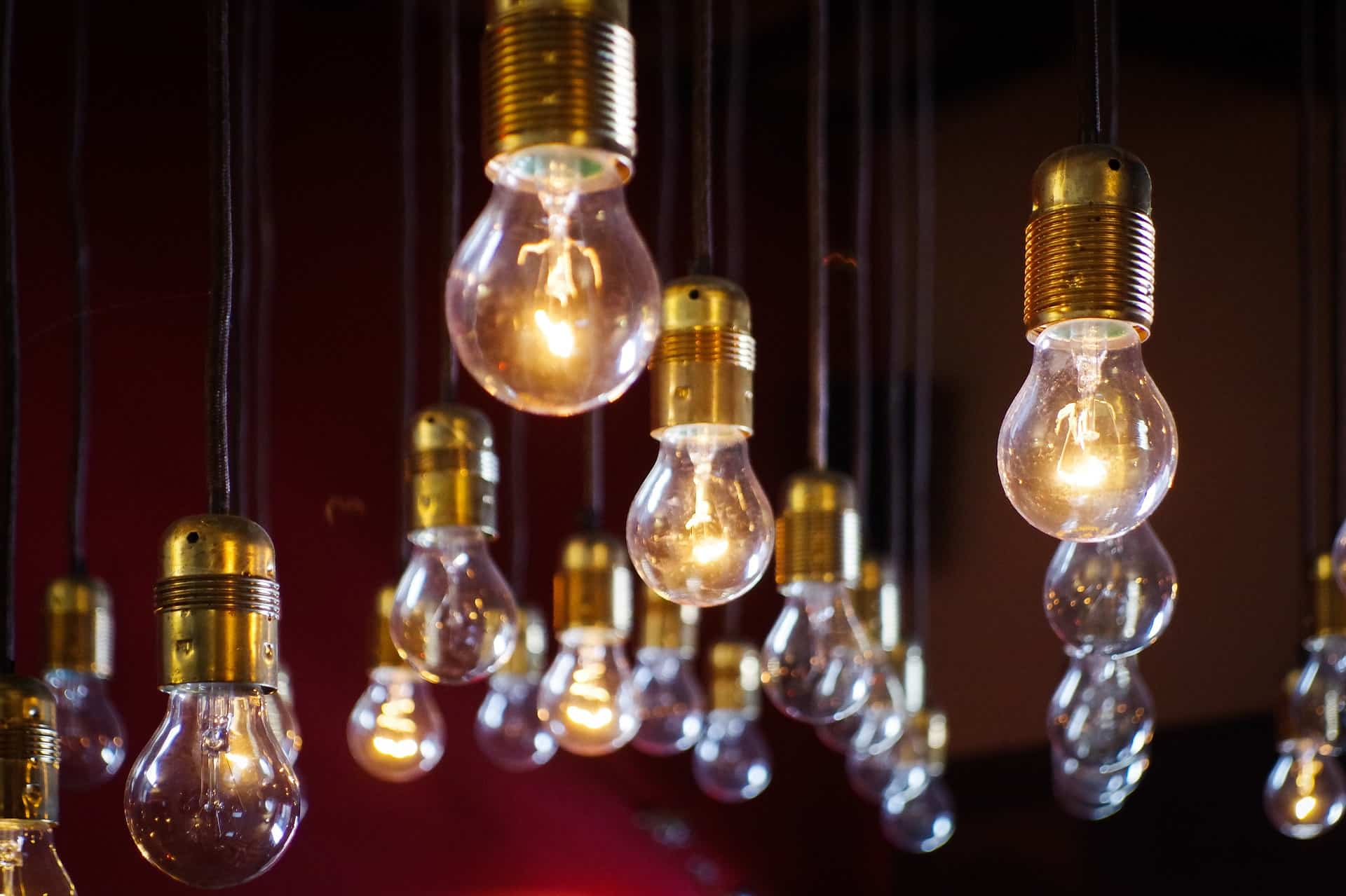 Home Electrical Upgrades You Need To Invest In. Golden bulb hilder for steam punk collection