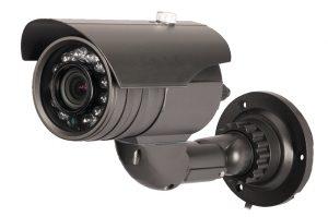 Outdoor camera type in black color