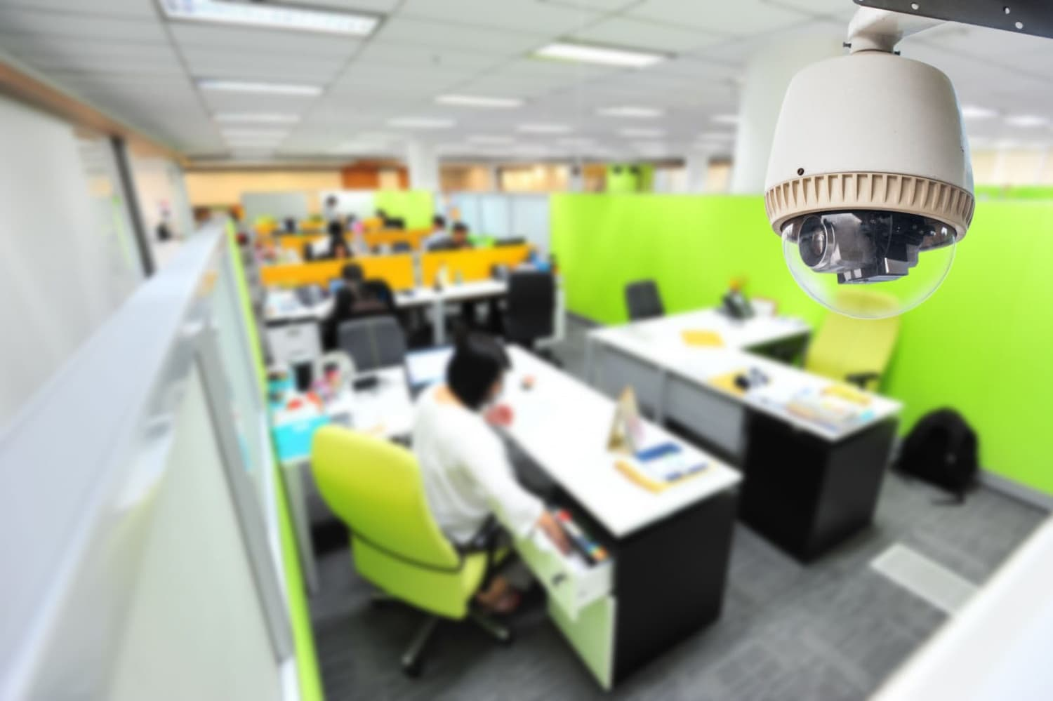 Dome camera for offices
