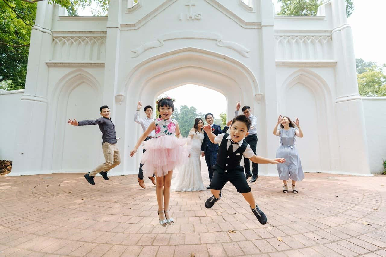 Design Ideas for Your Next Event Your Attendees Won't Soon Forget. Open air celebration with kids