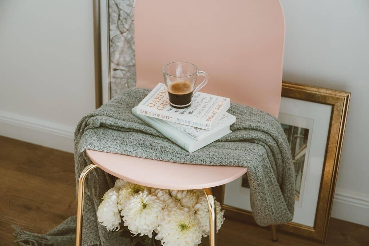 How To Choose The Right Furniture For Your New Home. The plaid and books over the table for intellectual and relaxing evening