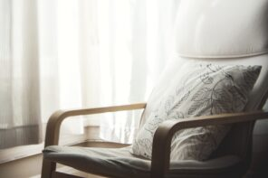 The Importance of Having a Good Quality Chair. Lightweight chair at the backdrop of light curtains in the bedroom