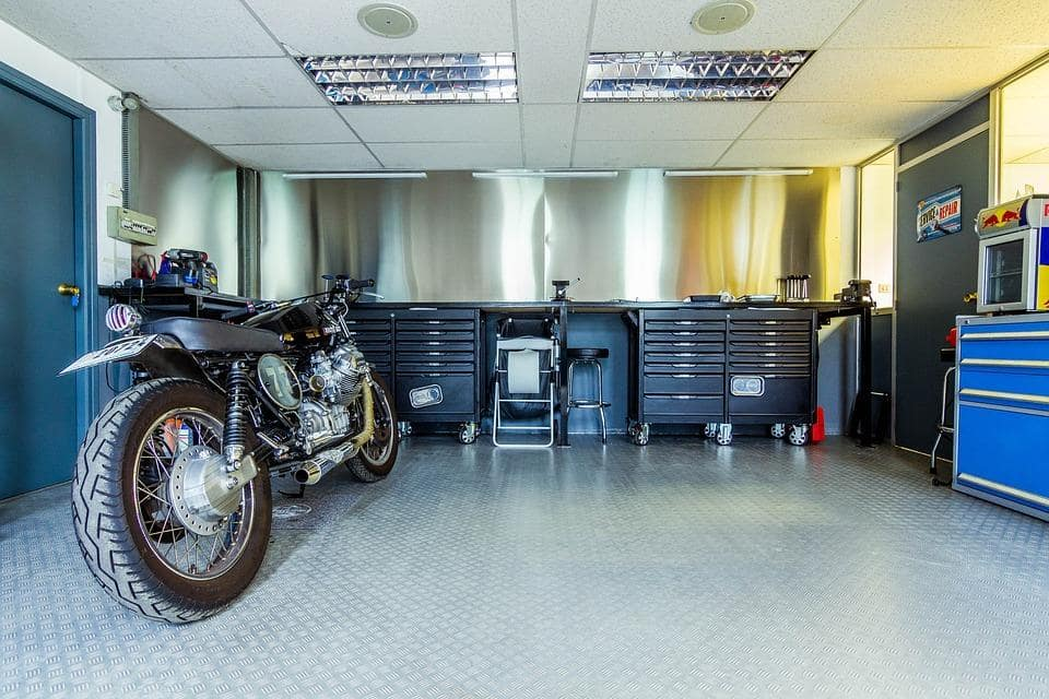 Home Improvements: How To Handle A Chaotic Garage. Nicely styled space with the windows and armstrong ceiling