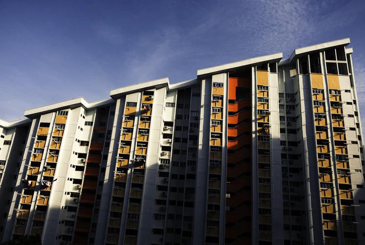 What You Need to Know About HDB Apartments. Colorful facaded apartment unit