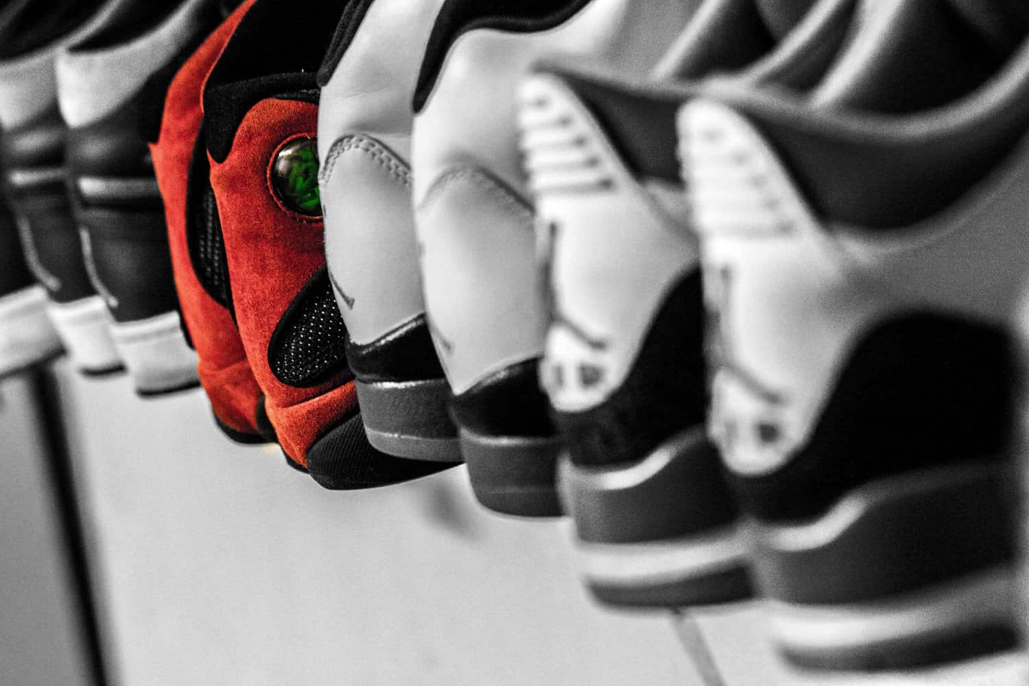 How To Organize Your Shoes Smartly: 6 Important Tips. Tightly packed shoes on the shelf