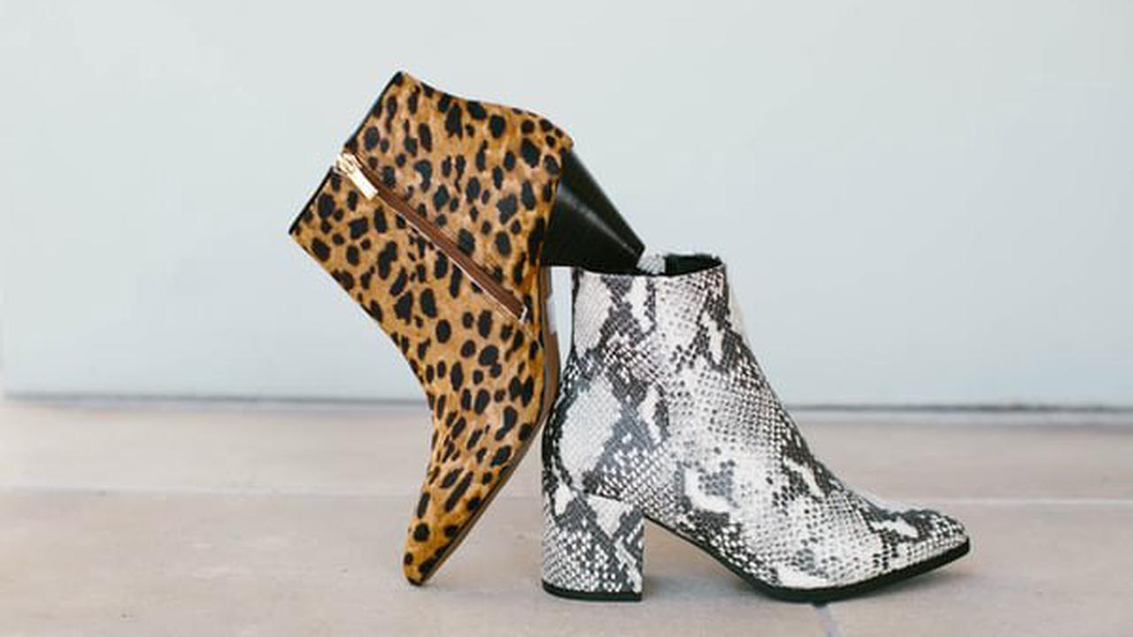 How To Organize Your Shoes Smartly: 6 Important Tips. Leopard and snake leather imitation