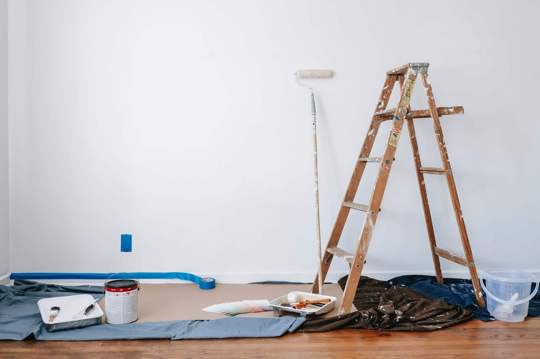 Planning To Remodel Your Home? Here's Some Important Advice. Instrument for wall painting