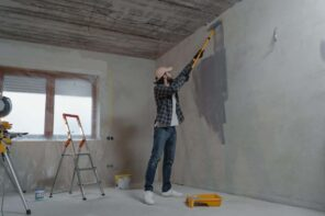How To Transform Your Home's Style On A Budget: 6 Proven Tips. The beginning of DIY renovation in the just finished room