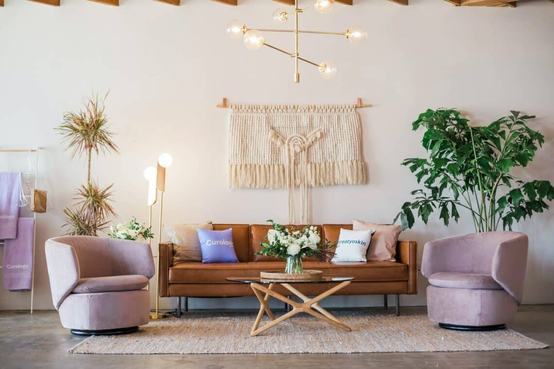 Important Things To Keep In Mind When Choosing Furniture For Your Living Room. Ethnic touch in the Scandinavian interior in different furniture elements