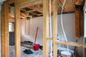 5 Proven Tips for All Home Renovation Projects. Small studio in the process of repair